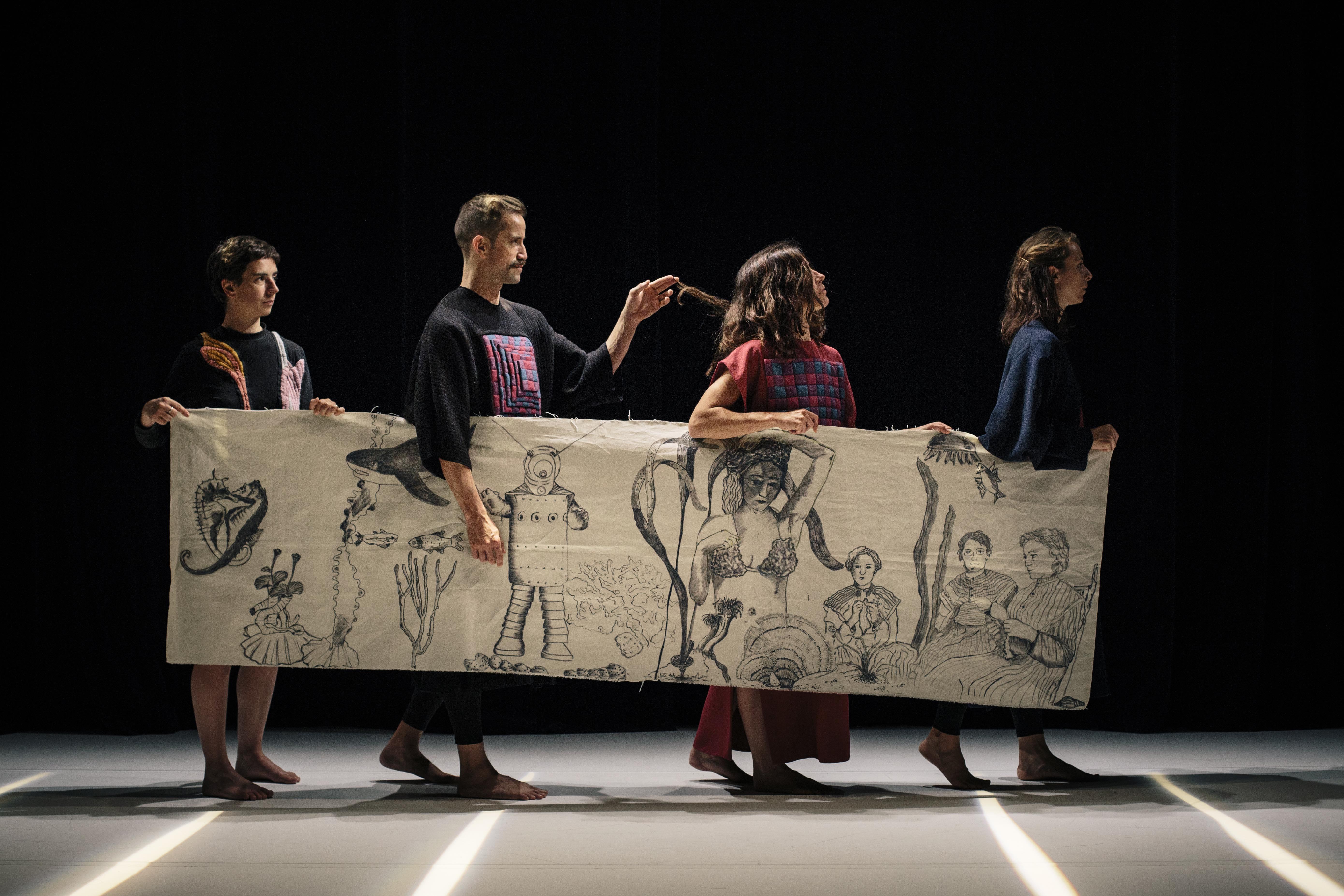 Photo Alexander Meeus - EDELWEISS - Concept & Choreography Alix Eynaudi